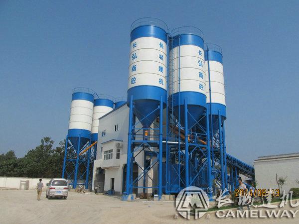 120工程混凝土拌合站设备