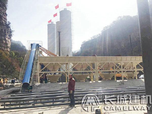 中(zhong)鐵二局榆神高(gao)速雙50攪拌站