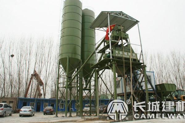hzs75型混凝土搅拌站