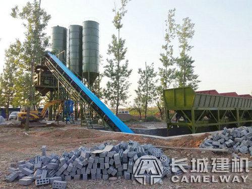 预制构件厂浇筑混凝土搅拌站