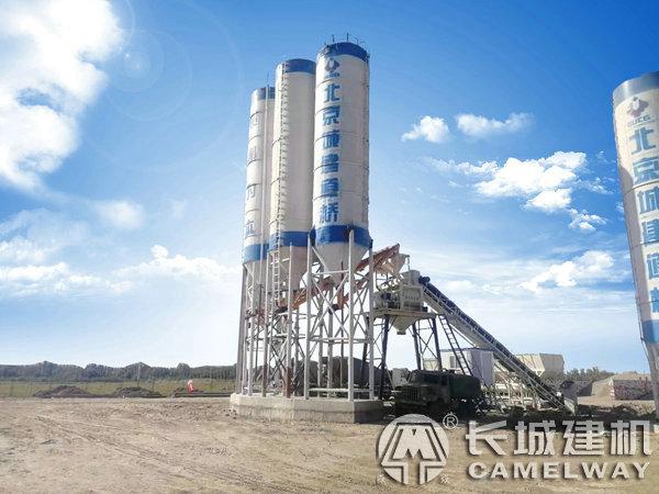 新疆和田hzs90商品混凝土搅拌站